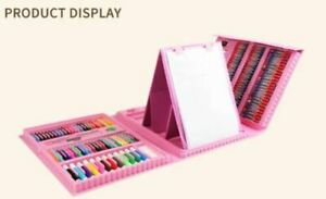 176 Pcs Art Set Childrens/Kids Colouring Drawing Painting Arts & Crafts Case_NEW