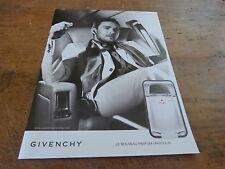 JUSTIN TIMBERLAKE - GIVENCHY!!!!!!!!FRENCH PRESS ADVERT