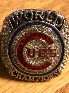 2016 ANTHONY RIZZO CHAMPIONSHIP RING CUBS SIZE 14