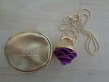 MARC JACOBS LOLA SOLID PERFUME RING/NECKLACE