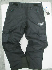 VINTAGE NFL PHILADELPHIA EAGLES BLACK LARGE SNOWBOARDING SKI PANTS NEW W/ TAGS