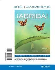 Arriba!: comunicacin y cultura, 2015 Release, Books a la Carte Edition 6th Edit