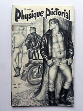 February 1965 Physique Pictorial Gay Men's Erotic Magazine w Tom of Finland Art