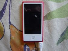 Apple ipod nano 16 Go pink used - For repair or parts.