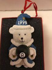 Daytons Hudson Santa Bear Ornament 1999 Wizard 8 ball