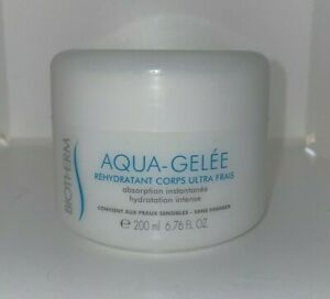 Biotherm Aqua Gelee Ultra Fresh Body Replenisher 6.76oz New As Pictured