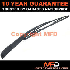 OPEL ZAFIRA MK1 A MPV 1999-2005 REAR WINDOW WINDSCREEN WIPER ARM & BLADE KIT