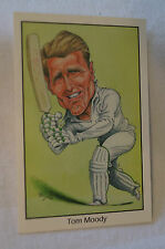 Cricket - County Print Caricature by John Ireland - Tom Moody - Australia