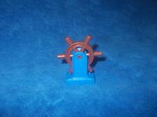 LEGO DUPLO PIRATENSCHIFF STEUERRAD RUDER Blau Braun 10514 7881 7880 SCHIFF BOOT
