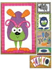 Sewing Pattern Packet BUILD A BUG ~ Mix & Match ~ Soft Doll, Storage Bag +