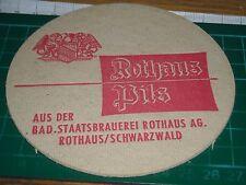 sottobicchiere beer mats birra bierdeckel  rothaus pils