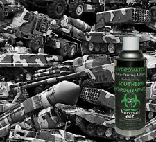 HYDROGRAPHIC FILM WATER TRANSFER HYDRO DIP 6OZ ACTIVATOR WITH ARMY TRUCKS KIT