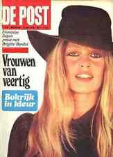 BRIGITTE BARDOT Full-Cover De Post 1976 BB Magazine