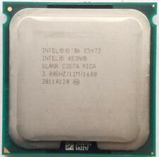 INTEL XEON QUAD CORE E5472 3.0GHz CPU PROCESSOR SLANR 12MB 64 BIT