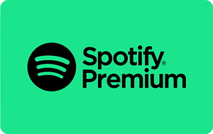 Spotify premium | 6 month warranty | Worldwide | New or Existing