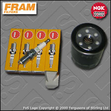 SERVICE KIT for HYUNDAI I10 (PA) 1.1 PETROL FRAM OIL FILTER NGK PLUGS 2007-2013