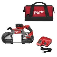 Milwaukee 2729-21 M18 Fuel Deep Cut Band Saw Kit with Batt New