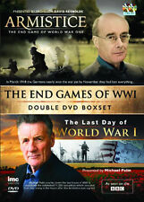 DVD:THE END GAMES OF WW1 - THE LAST DAY OF WW1 MICHAEL PALI - NEW Region 2 UK