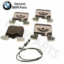 For BMW F22 F23 F30 F32 F33 F34 F36 Rear Brake Pads Set w/ Sensor Genuine