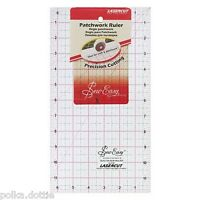 """Sew-Easy Quilters Patchwork Ruler 12.5"""" x 6.5 """", 6.5"""" x 6.5"""" or 4.5"""" x 4.5"""""""