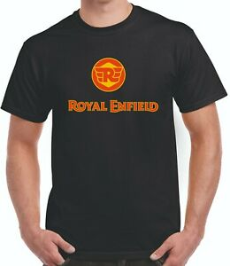Royal Enfield Motor Cycle classic style  tee