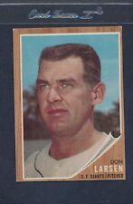 1962 Topps #033 Don Larsen Giants EX *1486