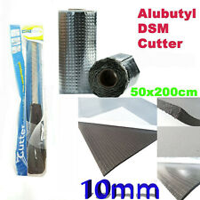 Alubutyl 50x200 CM Insulation Mat Self Adhesive Anti Drone Fahrzeugdämmung Set