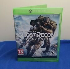 TOM CLANCY'S GHOST RECON BREAKPOINT XBOX ONE UBISOFT EXCELLENT CONDITION