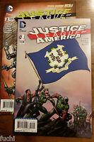 DC Comics Justice League of America No 1 & 2 Lot Geoff Johns David Finch