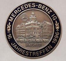 MBIG Plakette 16.Mercedes Jahrestreffen Herborn1996  W120 W121 W128 W180