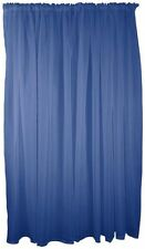 Cortinas color principal azul de poliéster