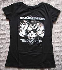 Original Tour Femmes Woman T-shirt rammstein Waldbühne Berlin Concert 2016