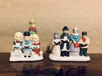 Caroling Figurines (Lot Of 2)