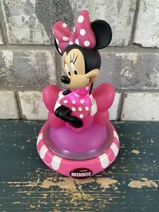 Minnie Mouse Disney Night Light Pink Light Up