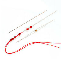 2/5pcs Big Eye Curved Beading Needles Easy Thread Jewellery Craft DIY Tool