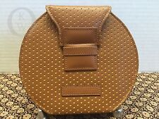 *Vintage*DOONEY & BOURKE*Cabrio Leather*WT29 CD Case/ Tan & Yellow #16102M