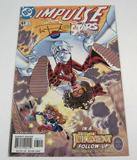 Impulse #61 Signed by Wayne Faucher! Day of Judgement DC COMICS 2000 FLASH CW TV