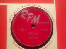 VIDO MUSSO - Speak Easy / Blues For Two  - RPM 493 – 78rpm   Blues / Stroll