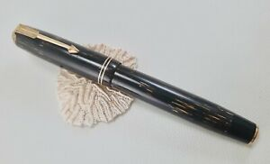 Antique Parker Vacumatic Shadow Wave Pearly Brown FP, USA (#AR4733)