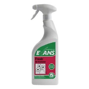 Fresh - Evans Vanodine International Liquid Air Freshener, 6x750ml (A075AEV)