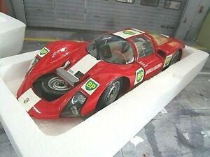 PORSCHE 906 KH World speed Record BP 1967 1/300 Dealer Kurzheck Minichamps 1:18