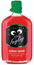 Kleiner Feigling Erdbeer Colada 0,5 l | Erdbeerlikör mit Wodka | Party | Likör