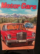 Golden Board Book Motor Cars Toppan's PictureBook Ill., Hitoshi Umemoto HB 1970