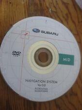 2008 2009 2010 SUBARU FORESTER IMPREZA Navigation DVD 86283AJ04A MID FACTORY OEM