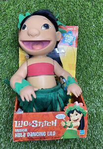 Lilo & Stitch Musical Hula Dancing Lilo NEW 2002 Hasbro