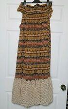 Belle du Jour Women's Maxi Dress ~ Sz M ~ Long ~ Strapless ~ Long ~ Lined