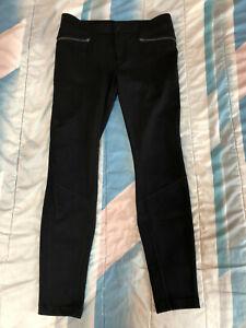 ATHLETA Black Casual Stretch Pants ~ RN 54023 ~ Women Sz 14T ~ 35 x 32