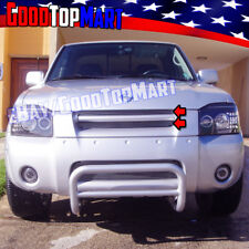 For Nissan FRONTIER 2001 2002 2003 2004 Polished Upper REPLACEMENT Grille 2PC