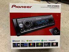 Pioneer MVH-S720BHS Single DIN Digital Media Receiver Bluetooth Sat Ready NEW