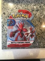 Battle Feature Scizor Wicked Cool Toys Deluxe Action Pokemon Nintendo